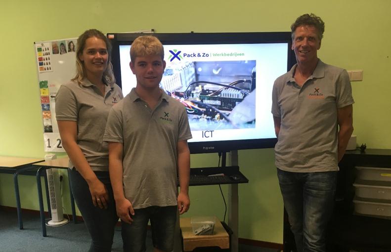 Overzichts foto Adri, Sigrid & Tim van Stap Naar Werk